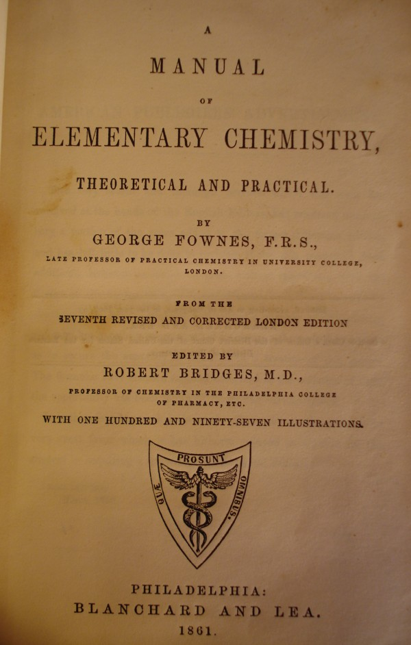 civil war chemistry book