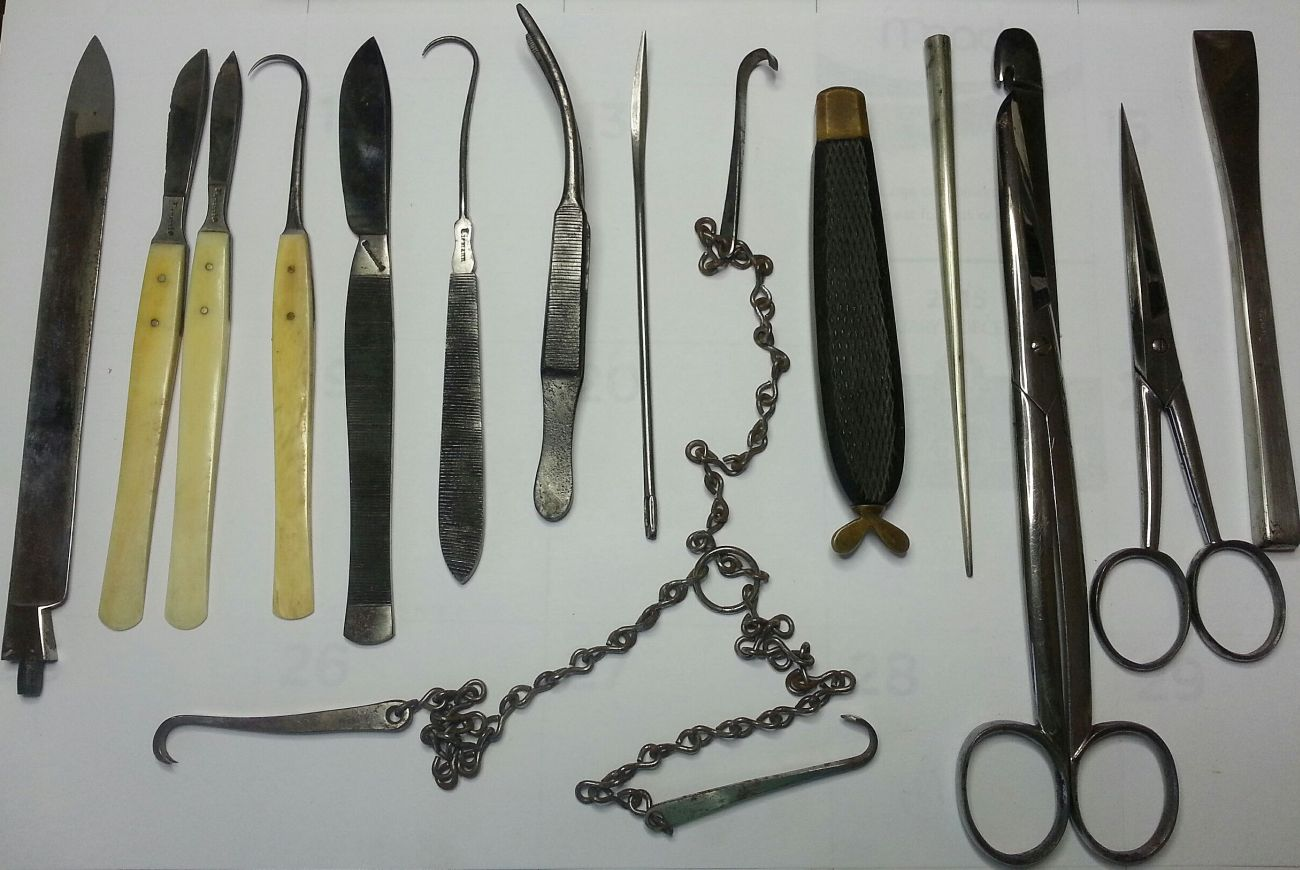 Tiemann Antique Surgical Instruments