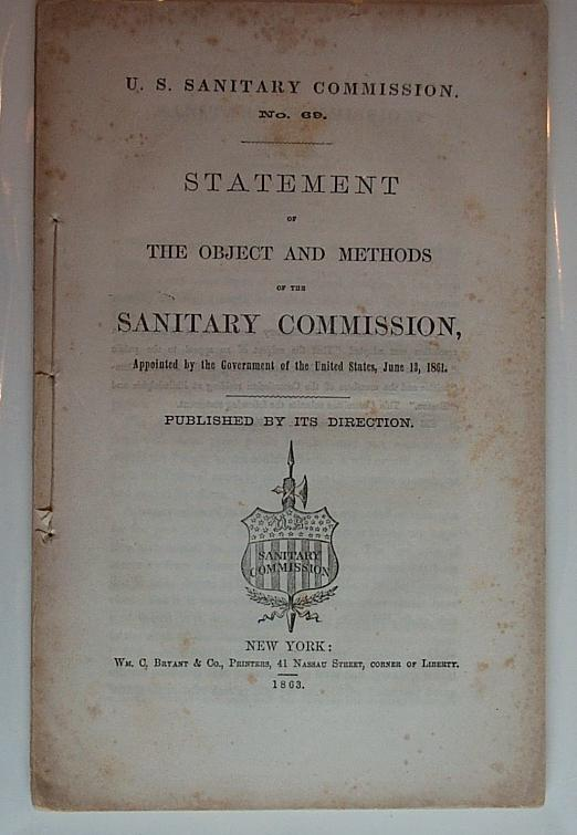 objects of the sanitary commission