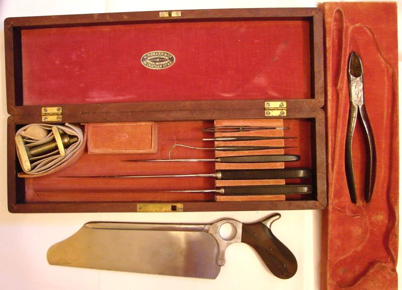 civil war amputation set