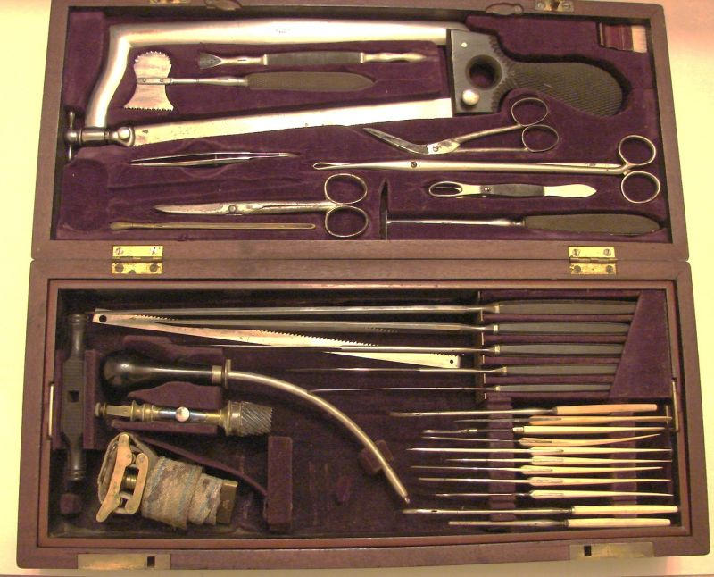 hernstein civil war surgical set