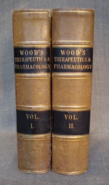 wood therapeutics and pharmacology