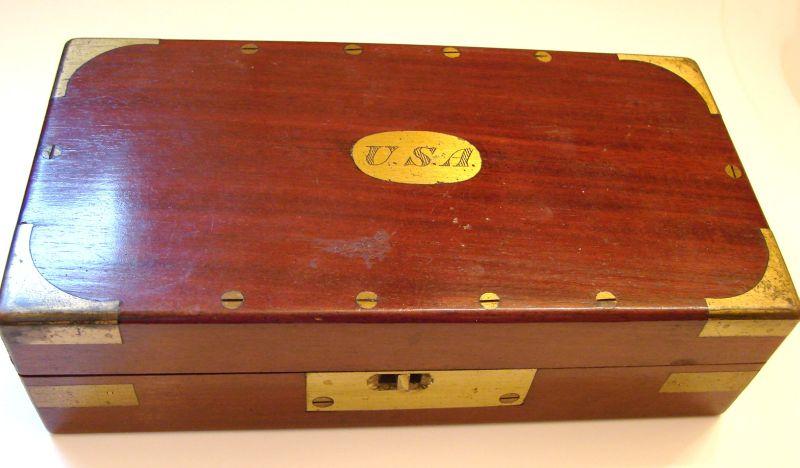 civil war antique trephine set