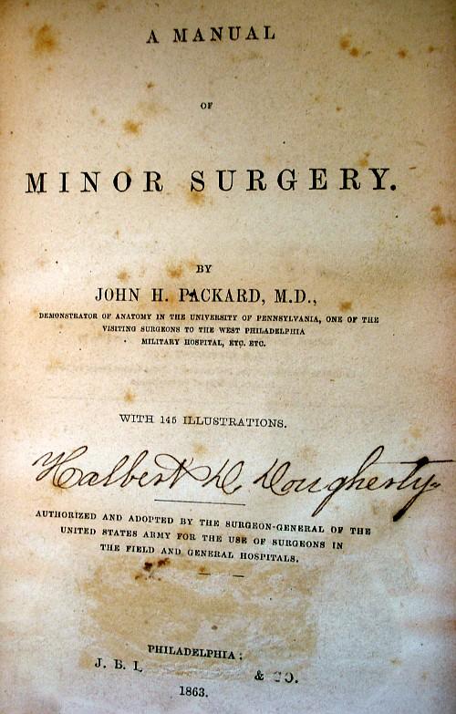 civil war surgery