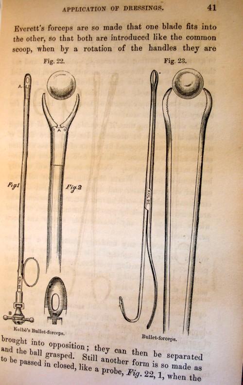 antique civil war medical tools