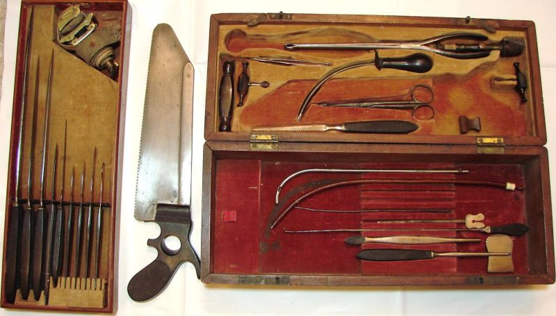 civil war surgery instruments