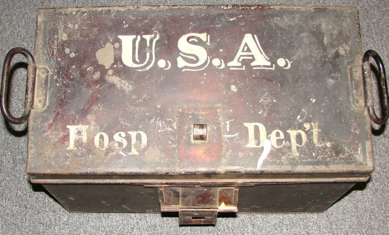 u.s.a. hosp. dept. medical pannier